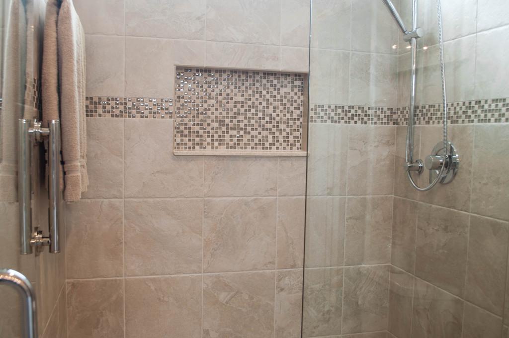 Mosaic Bliss Guest Bathroom Shower