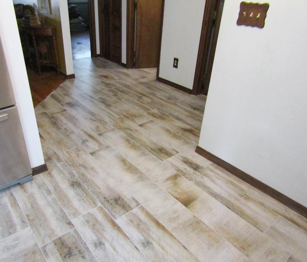 Treyburne Wood Plank Tile