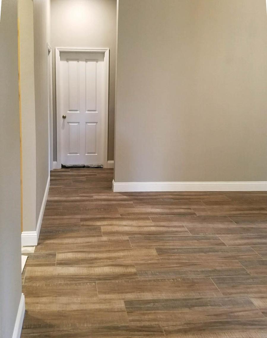 Walnut Wood Plank Tile